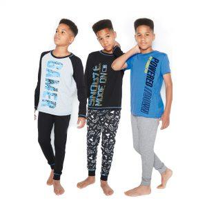Older Boys Pack Of 3 Gamer Pyjamas
