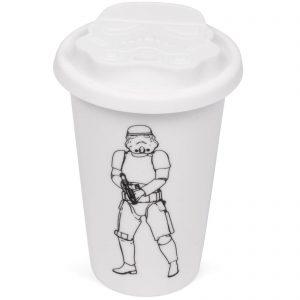 Original Stormtrooper Ceramic Travel Mug – White