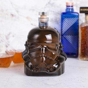 Original Stormtrooper Decanter 750ml Premium Black Finish – Zavvi Exclusive