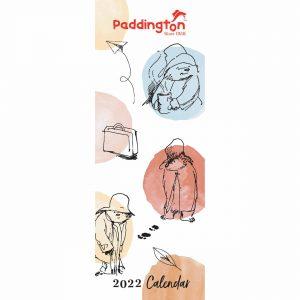Paddington Bear, Classic Official Slim Calendar 2022