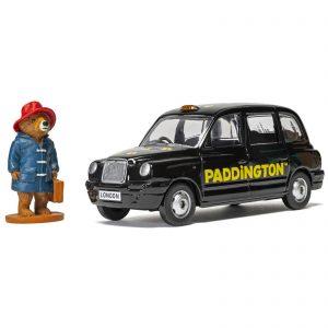 Paddington Bear London Taxi And Paddington Bear Figure Model Set – Scale 1:36