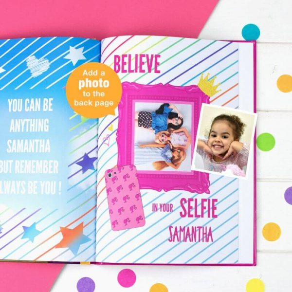 Personalised Barbie: You Can Be Anything Book
