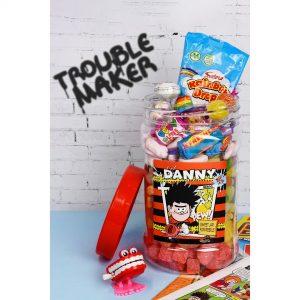 Personalised Beano Retro Sweets Jar