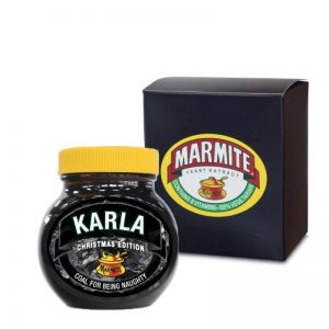 Personalised Christmas Marmite With Gift Box – Naughty
