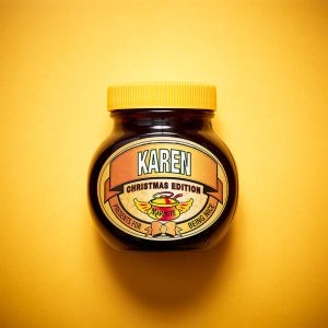 Personalised Christmas Marmite With Gift Box – Nice