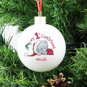 Personalised Me To You – My 1st Christmas Bauble
