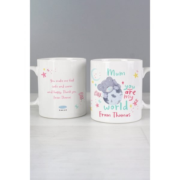 Personalised Me to You My World Mug