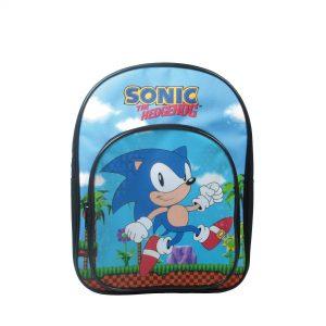 Personalised Sonic The Hedgehog Backpack