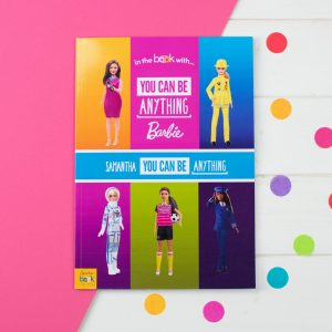 Personalised You Can Be Anything Barbie – Softback