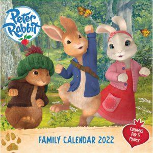 Peter Rabbit Official Family Planner 2022