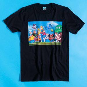 Pigeon Street Film Still Black T-Shirt