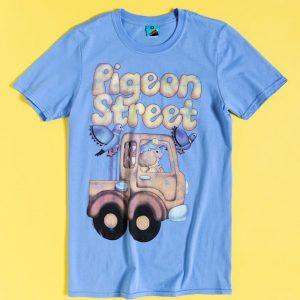 Pigeon Street Long Distance Clara Blue T-Shirt