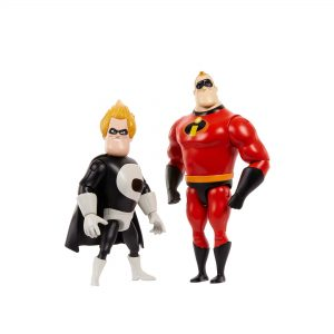 Pixar 7 Inch Incredibles 2 Pack Mr Incredible Amd Syndrome