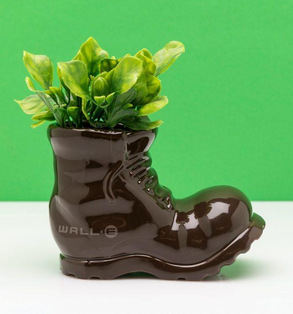 Pixar Wall-E Boot Shaped Planter