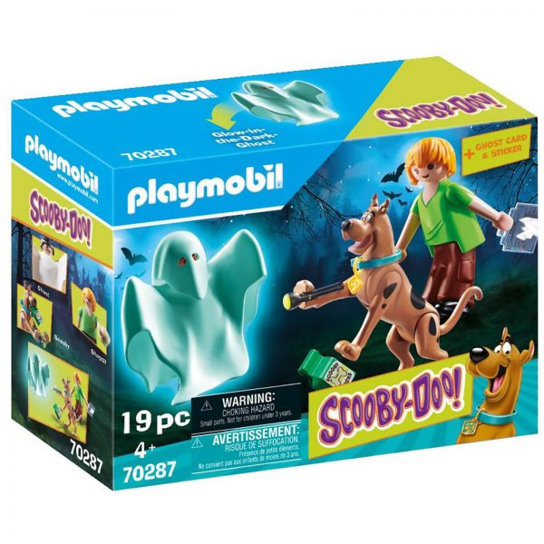 Playmobil SCOOBY-DOO! Scooby and Shaggy with Ghost (70287)