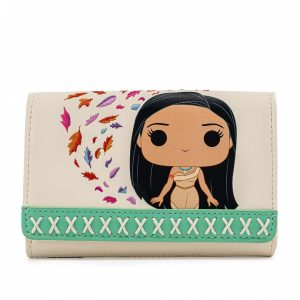 Pop By Loungefly Disney Pocahontas Meeko Earth Day Wallet