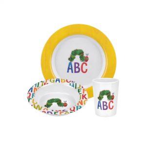 Portmeirion Very Hungry Caterpillar ABC 3 Piece Melamine Set