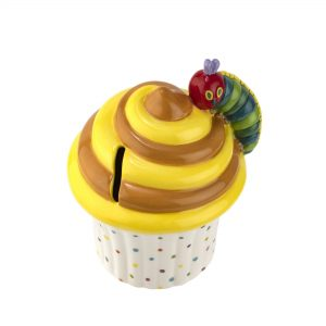 Portmeirion Very Hungry Caterpillar Cupcake Money Box