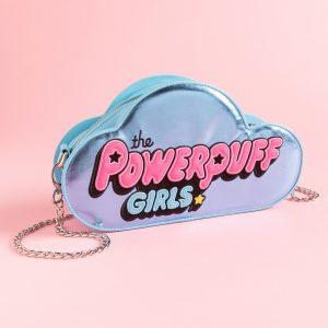 Powerpuff Girls Metallic Logo Cross Body Bag