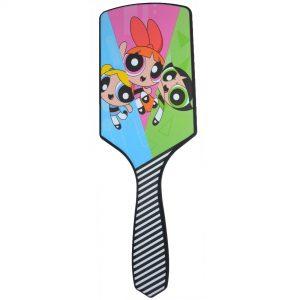 Powerpuff Girls Paddle Hair Brush