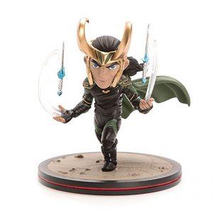 Quantum Mechanix Thor: Ragnarok Loki Q-Fig Diorama