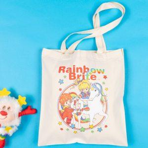 Rainbow Brite And Starlite Tote Bag