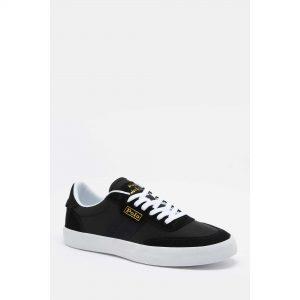 Ralph Lauren Court Black Sneakers