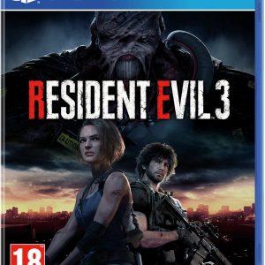 Resident Evil 3 Remake PS4 Game