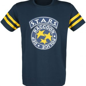Resident Evil 3 – S.T.A.R.S. T-Shirt Blue Yellow