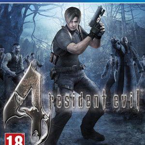 Resident Evil 4 PS4 Game.