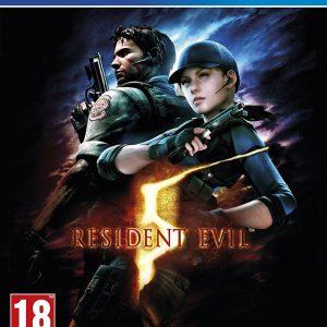 Resident Evil 5 PS4 Game.