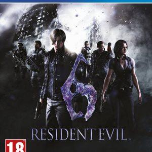 Resident Evil 6 PS4 Game.