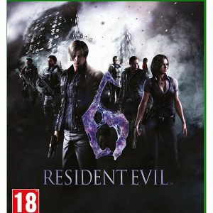 Resident Evil 6 Xbox One Game.