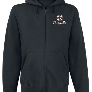 Resident Evil Umbrella Co. – Our Business Is Life Itself Hooded Zip Black