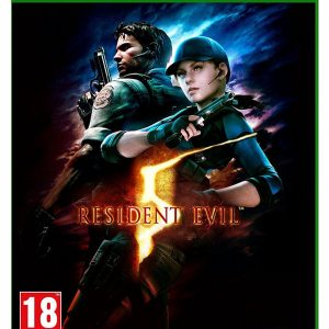 Resident Evil Xbox One Game.