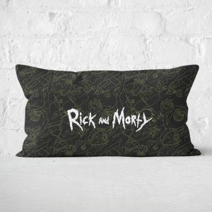 Rick And Morty Rectangular Cushion – 30x50cm – Soft Touch