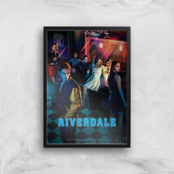 Riverdale Giclee Art Print - A4 - Print Only