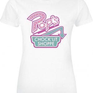 Riverdale Pop's Chock'lit Shoppe T-Shirt White