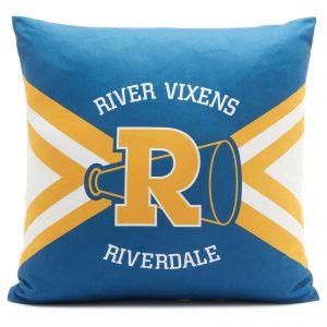 Riverdale Vixen Cushion Mock Square Cushion – 50x50cm – Soft Touch