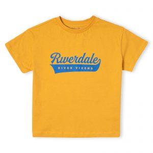 Riverdale Vixens Women's Cropped T-Shirt – Mustard – XS – Mustard