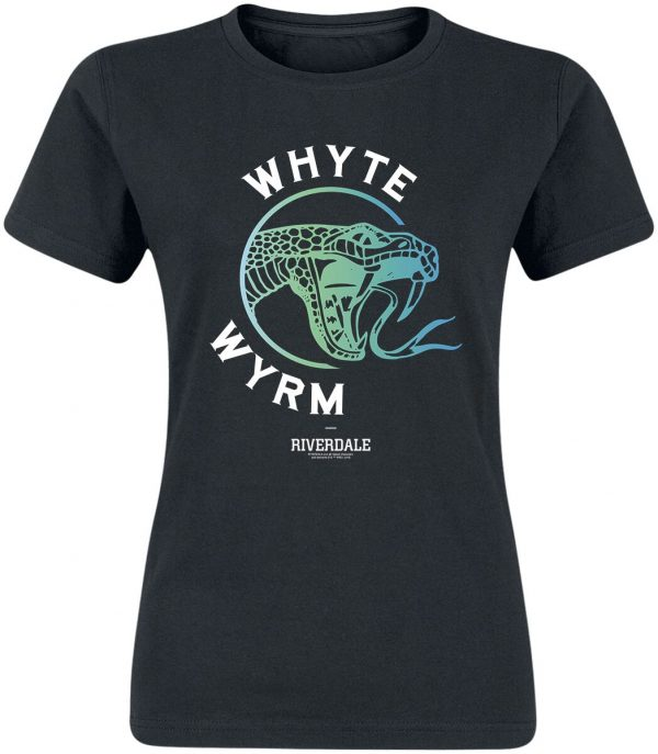 Riverdale Whyte Wyrm T-Shirt black
