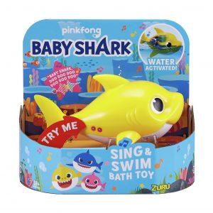Robo Alive Junior Baby Shark Sing And Swim Bath Toy