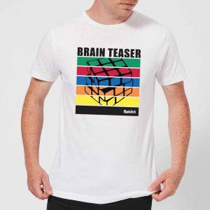 Rubik's Brain Teaser Men's T-Shirt – White – S – White