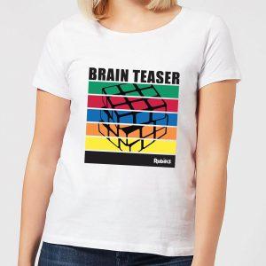 Rubik's Brain Teaser Women's T-Shirt – White – S – White