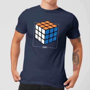 Rubik's Complete Men's T-Shirt – Navy – S – Navy