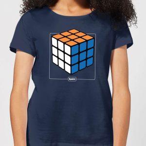 Rubik's Complete Women's T-Shirt – Navy – S – Navy