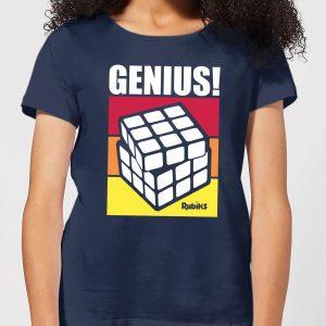 Rubik's Genius Women's T-Shirt – Navy – S – Navy