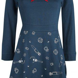 Sailor Moon 3D – Luna Medium-length Dress Blue