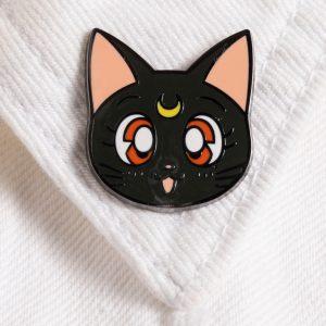 Sailor Moon Luna Enamel Pin Badge