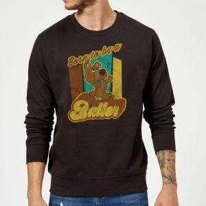 Scooby Doo Born To Be A Baller Sweatshirt – Black – S – Black